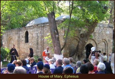The House of Mary near Ephesus